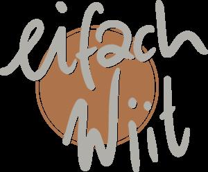 eifachWiit Logo 2zeilig